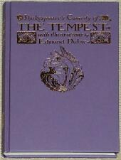 THE TEMPEST ~ WILLIAM SHAKESPEARE ~ EDMUND DULAC ~ INCREDIBLE ILLUSTRATIONS!