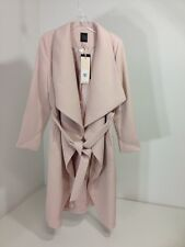 THE LIMITED WOMEN'S DUSTER COAT DUSTY ROSE SMALL PETITE NWT $250
