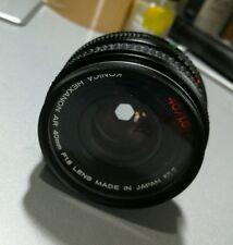 KONICA HEXANON AR 40mm/ 1.8f PANCAKE lens
