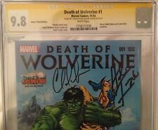 Marvel Death of Wolverine #1 Desert Wind Variant NM 9.8 CGC SS Herb Trimpe Soule