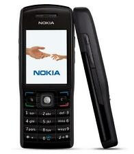 Nokia E50 Black New Mobile With Nokia Charger, Battery
