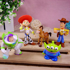 5pcs Movie Toy Story Buzz Lightyear Woody Action Figures Doll Kids Toy Xmas Gift