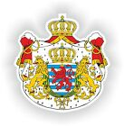 Luxembourg Crest Coat Of Arms Sticker decal Stickers Helmet Laptop Car Boat #02