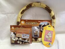 Hello Kitty Steering Wheel rear view mirror air freshener cowgirl rare Sanrio