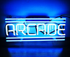 TN065 'Arcade' Game Room Wall Display Decor Real Neon Light Sign 12x5 New