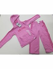 Girls Size 6X   Adidas Pink Track Suit / Jogging Suit Set - Toddler New W Tags 6