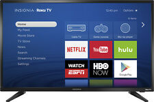 "Open-Box: Insignia¿ - 32"" Class (31.5"" Diag.) - LED - 720p - Smart - Roku TV ..."