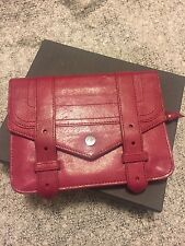 Proenza Schouler PS1 chain wallet (Raspberry)