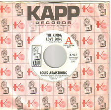 Louis Armstrong -The Kinda Love Song  Mono/Stereo -KAPP 977