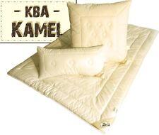 Kamelhaar Decke 155x220 cm mit KBA Baumwolle Duo Leicht Bett schadstoffrei neu