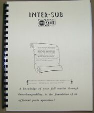 49 50 51 1952 1953 1954 1955 1956 1957 1958 Interchange Manual Studebaker Truck