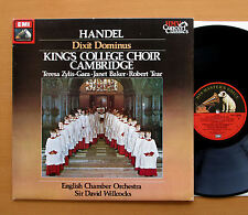 SXLP 30444 Handel Dixit Dominus King's College David Willcocks HMV Stereo NM/EX