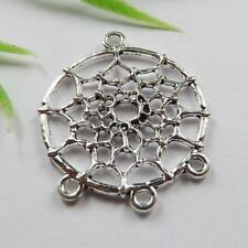 Free Ship 110pcs tibet silver Dreamcatcher connector 34x28mm