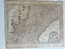 1634 Mercator Hondius: Mappa Abruzzo Molise Campania Napoli Abruzzo Lazio Lavoro