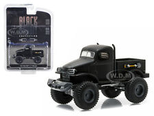 1941 MILITARY 1/2 TON 4X4 BLACK BANDIT 1/64 DIECAST MODEL BY GREENLIGHT 27840 A