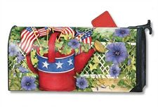 Magnet Works Patriotic Watering Can Original Magnetic Mailbox Wrap Cover