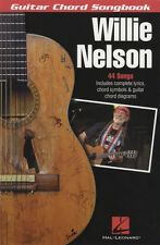 Willie Nelson Guitar Chord Songbook Song Book Crazy Georgia On My Mind Country