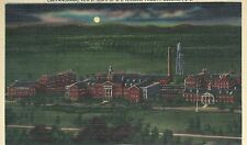 Administration Building  V A  Night  Columbia  SC  Unused Linen Postcard 10224