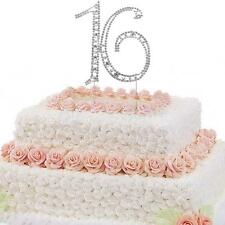 ROMANTIC SWEET 16TH BIRTHDAY PARTY CAKE PICK CAKE TOPPERS DECORATION