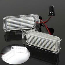 2x Bright Xenon White Upgrade LED Number License Plate Light Bulb Lamp Ford Car