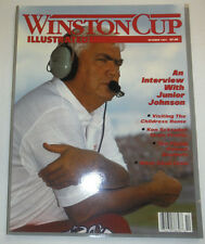 Winston Cup Magazine Junior Johnson & The Childress Home October 1991 121014R