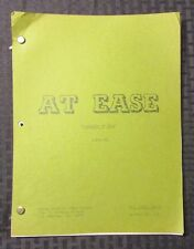1982 AT EASE Television Show Script Episode #3882-801 Chariots of Fear 36 pgs