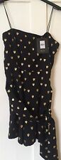 NEW Kate Moss Topshop Heart Playsuit Size 6