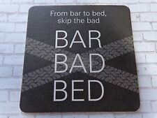 Beer Coaster ~*~ WHEELY Quality Cab Service >< From the Bar to Bed, Skip the BAD