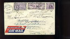 Scott #E15 Special Delivery AIRMAIL SCARCE COVER FROM ANACONDA MONTANA TO CANADA