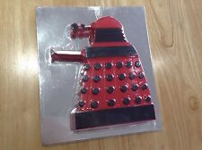 DR DOCTOR WHO TOY GIFT NOVELTY - MONEY PIGGY BANK - RED DALEK PARADIGM DRONE