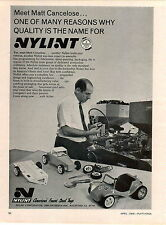1969 ADVERT Nylint Toy Cars Hot Rod Dune Buggy Trailer Matt Cancelose