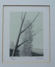 Robert KIPNISS Landscape signed and numbered lithograpoh framed