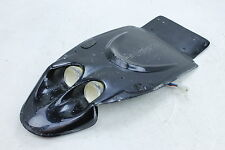 02-05 Kawasaki Ninja Zx12r Aftermarket Black Fiberglass Rear Back Tail Undertail