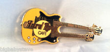 Hard Rock Cafe 1990's Bali Double Neck Guitar Pin