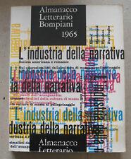 ALMANACCO LETTERARIO BOMPIANI 1965 CATALOGO EDITORIALE DOMUS - A15