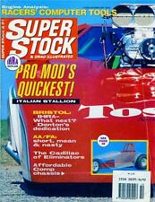 SUPER STOCK OCTOBER 1981-DRAGSTER-FUNNY CAR-PRO MOD V8-TOP FUEL AMERICAN MAG