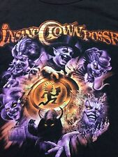 Used Insane Clown Posse 2 Sided T Shirt Juggalo Wraith Hatchet Man Icp Rap Xl