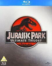 JURASSIC PARK TRILOGY PART 1 2 3 BLU RAY BOX SET Brand New Sealed Original UK