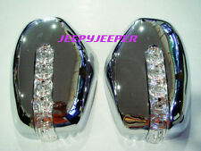 R CHROME MIRROR COVER LED MITSUBISHI L200 TRITON PAJERO R