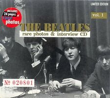 BEATLES - RARE PHOTOS & INTERVIEW CD VOL.1 - SEALED CD