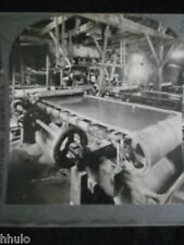 STA193 Stamp mill and gold concentrator vintage Photo Keystone 1900 STEREO