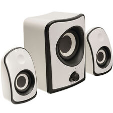 Compact/Mini 2.1 Surround Sound Gaming Speaker System - PC Laptop Subwoofer Gift