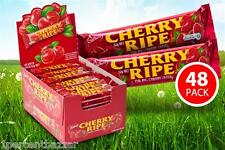 48 x 52g  Cadbury Cherry Ripe Milk Chocolate Medium Bars - 2.5Kg Total