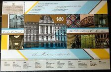 (2015) Nestor Kirchner'sCultural Center.Souvenir sheet.MNH. Excellent condition