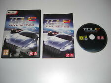 Test Drive Unlimited 2 PC DVD ROM Con Manual Original-Envío rápido