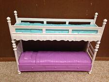 Barbie Sister Stacie Chelsea Skipper Doll Sleeptime Bedroom Bunkbed Bed Playset