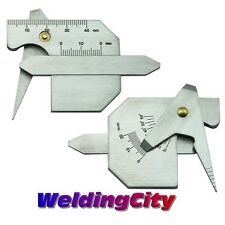 Welding Gauge Bead Height Gap Groove Angle Plate Thick HJC40B | US Seller Fast