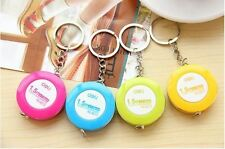 1pcs Keyring office Ruler small Tape Measure Body Measuring Sewing Tailor 1.5m
