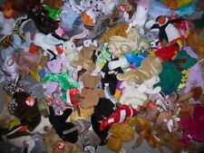 TY Beanie Babies the BULK assorted LOT mix 200 cat dog bear free shipping