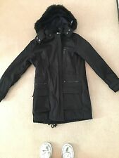 Vince Quilted Genuine Fur Hooded Parka, XS. New With Tag!